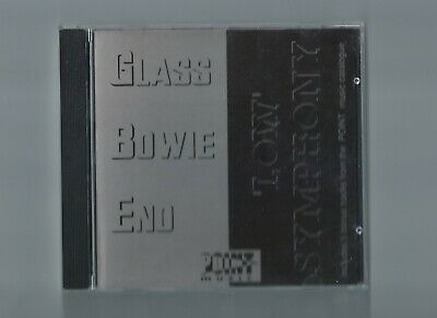 Philip Glass David Bowie Brian Eno Low Symphony CD Canadian Promo