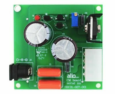 Capacitance Multiplier Power Filter for ALLO Sparky, Kali and VANA Player