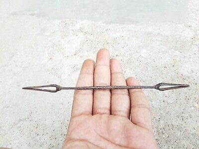 Old Primitive Handmade Iron Mathematical Tool