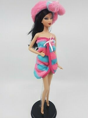 New Barbie doll clothes outfit princess towel bathrobe jammies wrap
