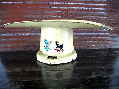 Vintage Baby Table Scale Old Farm House Kitchen Rustic Decor Counselor Breary