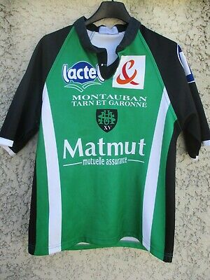 Maillot rugby U.S.MONTAUBAN vintage collection shirt S / M