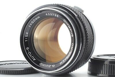[EXC+++++] Olympus OM G.ZUIKO Auto-S 50mm f/1.4 MF Standard Lens from Japan