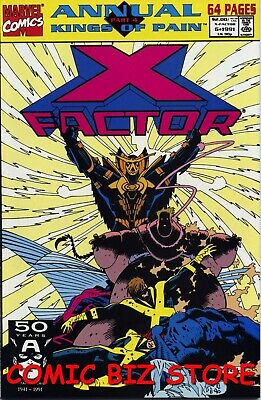 X Factor #6 Annual (1991) 1St Printing Bagged & Boarded Marvel Comics