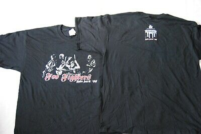 Foo Fighters Glitter Band Logo Hyde Park 2006 T Shirt New Official In Your Honor