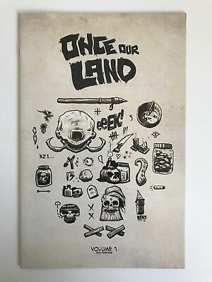 Once Our Land #1 | Peter Ricq 2nd Print Variant Cover | Scout Comics - 2016 A