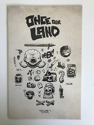 Once Our Land #1 | Peter Ricq 2nd Print Variant Cover | Scout Comics - 2016 B