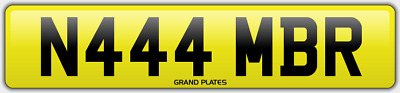 Amber Ambers NUMBER PLATE AMB NO ADDED FEES N444 MBR CAR REGISTRATION AMB AMBERS