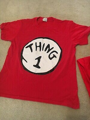 Thing 1 T Shirt And Leggings World Book Day Costume