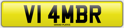 Amber Ambers NUMBER PLATE AMB NO ADDED FEES V14 MBR CAR REGISTRATION AMB AMBERS