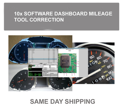 15pack SOFTWARE Dashboard TACHO Km Change Mileage change calculator CALIBRATION
