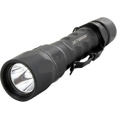Jetbeam Jet-IM Tactical Flashlight BLACK Recharge 1100 Lumen EDC Survival Hike-