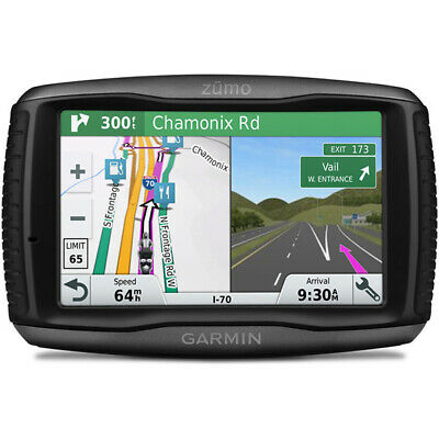Garmin Zumo 595LM Motorcycle Sat Nav Lifetime Maps Bike GPS UK & Europe Updates