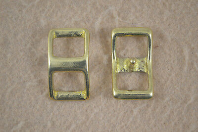 "Conway 1//2/"" Buckle Solid Brass Pack of 12 F245"