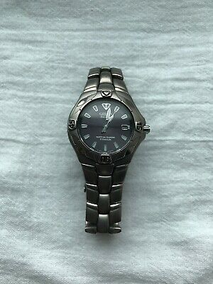 Citizen  Eco-Drive Titanium Wrist Watch for Men With Date Display