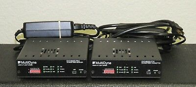 MultiDyne DVI-6000 FTX & FRX Transmitter/Receiver Set (optical/DVI Video) OFFER!