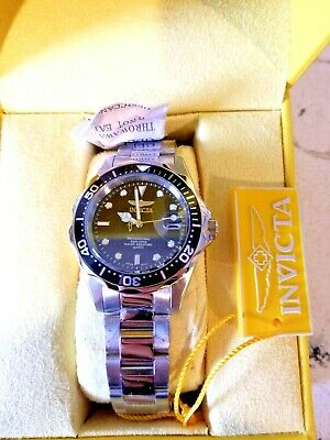 Invicta Pro Diver Mens Quartz Wrist Watch Model 8932 W Yellow Case New