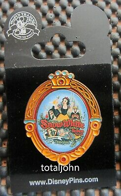 Disney DLR - Snow White and the Seven Dwarfs 70th Anniversary - Event Logo Pin