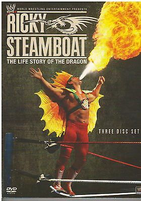 WWE: Ricky Steamboat: The Life Story of the Dragon (DVD, 2010, 3-Disc Set){2401}