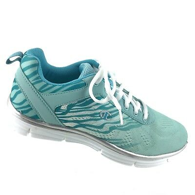 addfc892f Champion Women s Sport Comfort Athletic Running Size 10 Blue Lace Up Shoes  R7S1