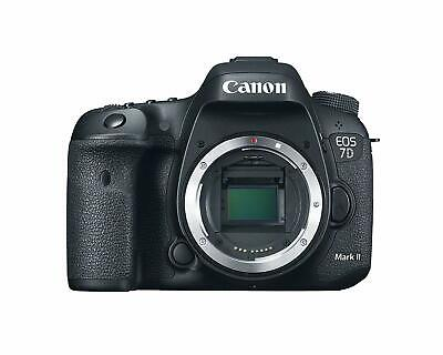 Canon EOS 7D Mark II APS-C Sized 20.2MP CMOS Digital SLR Camera Body Only