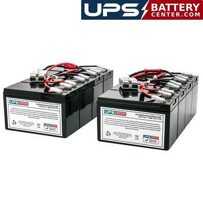 APC Smart UPS 1400VA Rack Mount SU1400RMBX120 Compatible Replacement Battery Pack by UPSBatteryCenter