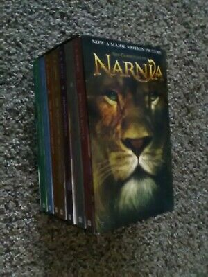 The Chronicles of Narnia 7 Book Paperback Set