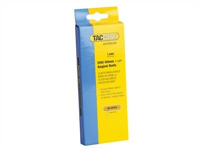 Tacwise TAC0483 500 18 Gauge 40mm Angled Nails Pack 1000
