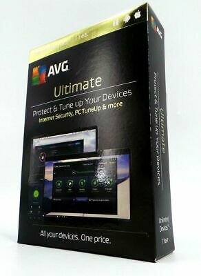 AVG Ultimate 2017, Unlimited Devices 1 year, for Android, Windows, Mac #8237