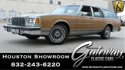 1985 Electra Estate Wagon 1985 Buick Electra Estate Wagon 79,258 Miles Wagon 5.0L V8 4BL OHV 3 Speed Autom