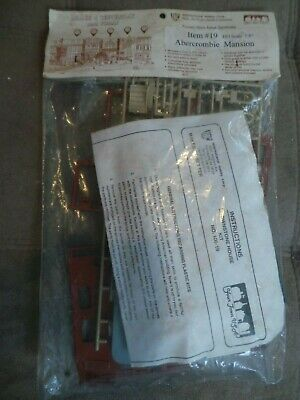 HO Scale IHC Abercrombie Mansion Brownstone House Kit. NEW In Package.