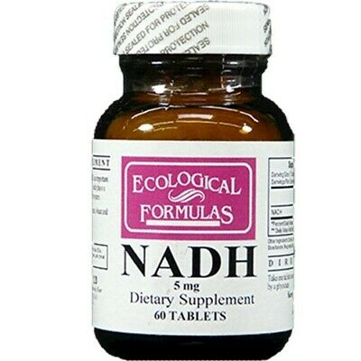 Ecological Formulas - NADH 5 mg 60 Tablets
