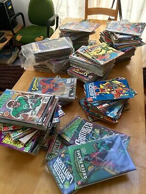 Awesome Dc Comics Collection Full Sets Huge Runs Superman Green Lantern Legion