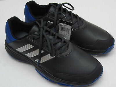 80ce4a8afafb8 Adidas Adipower Bounce Men s New Size 8.5 Black   Blue Golf Shoes 6456