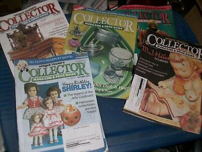 (5 count) Antique Trader's Collector Magazine and Price Guide