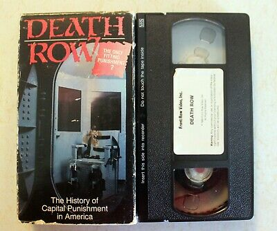 VHS: Death Row: The History Of Capital Punishment In America
