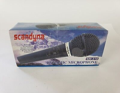 Scandyna Dynamic Wired Microphone SM-216