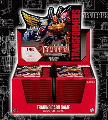 Transformers Booster Box 2019 Series 2 Rise Of The Combiners WOTC TCG Card Game+