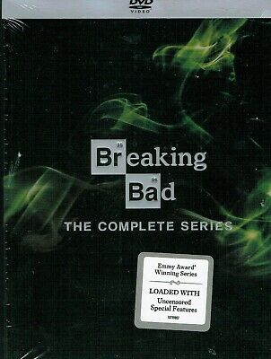 Breaking Bad The Complete Series  21 Disc set DVD NEW SEALED