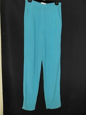 1980's Vintage High Waisted Pants with Tapered Legs.