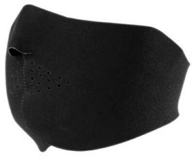 New Zan Cold Weather Water/Wind Resistant Adult Neoprene Facemask, Black, OSFM