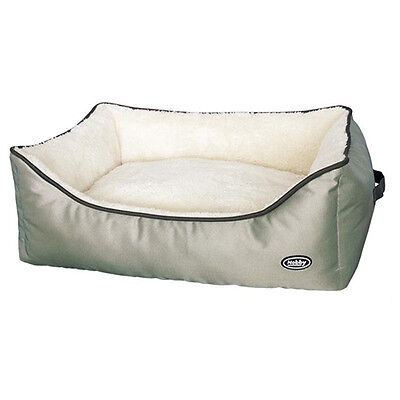 Nobby Dog Bed Rectangular Lewa Beige, Various Sizes,