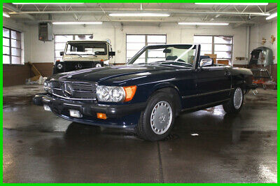 1989 Mercedes-Benz 500-Series REBUILT TITLE CALL OR TXT 248 635 6000 1989 MERCEDES BENZ 560 SL COUPE 2 Dr Convertible Over 17K Invested