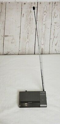 Vintage Realistic Grey Crystal Controlled Weather Radio - Realistic 12-241