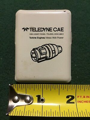 Teledyne CAE Turbine Engine Advertising Magnetic Refrigerator Clip