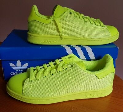 Adidas Originals Stan Smith Solar Yellow Trainers Brand New Size 6(Eur39 1/3)