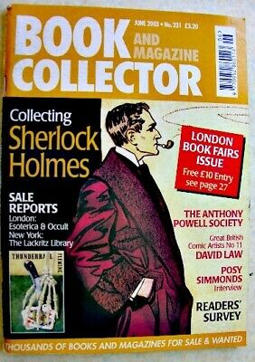 BOOK & MAGAZINE COLLECTOR June 2003 231 Sherlock Holmes Posy Simmonds David Law