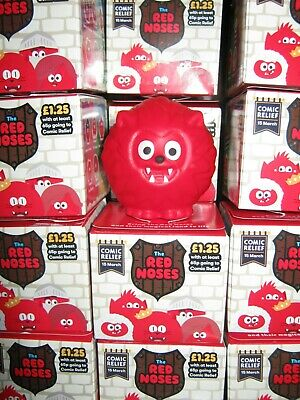 Red Nose Day 2019 Noses - Wolfnose (With Castle Box) - Charity Collectibles
