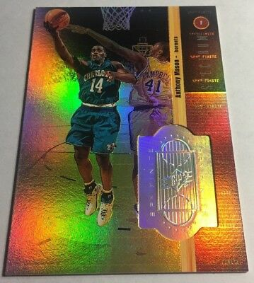 ANTHONY MASON 1998-99 SPX Finite Spectrum #74  144/350