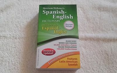 Merriam-Webster's Spanish-English Dictionary, Merriam-Webster, Acceptable Book